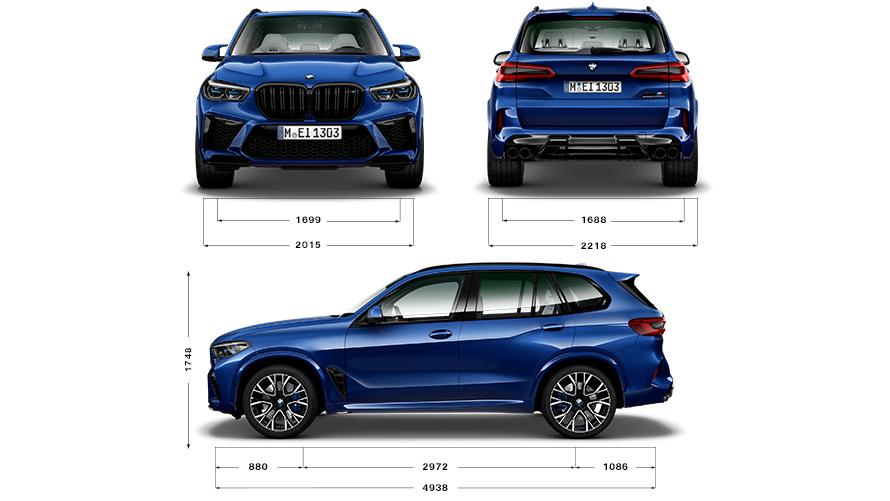 BMW X5 M Автомобили: Двигатели и технически данни | BMW.bg